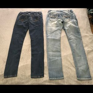 Skinny mid-rise size 30 warehouse one jeans